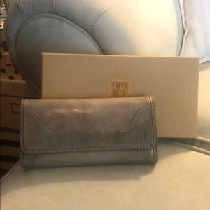 Frye Melissa wallet in the color Ice